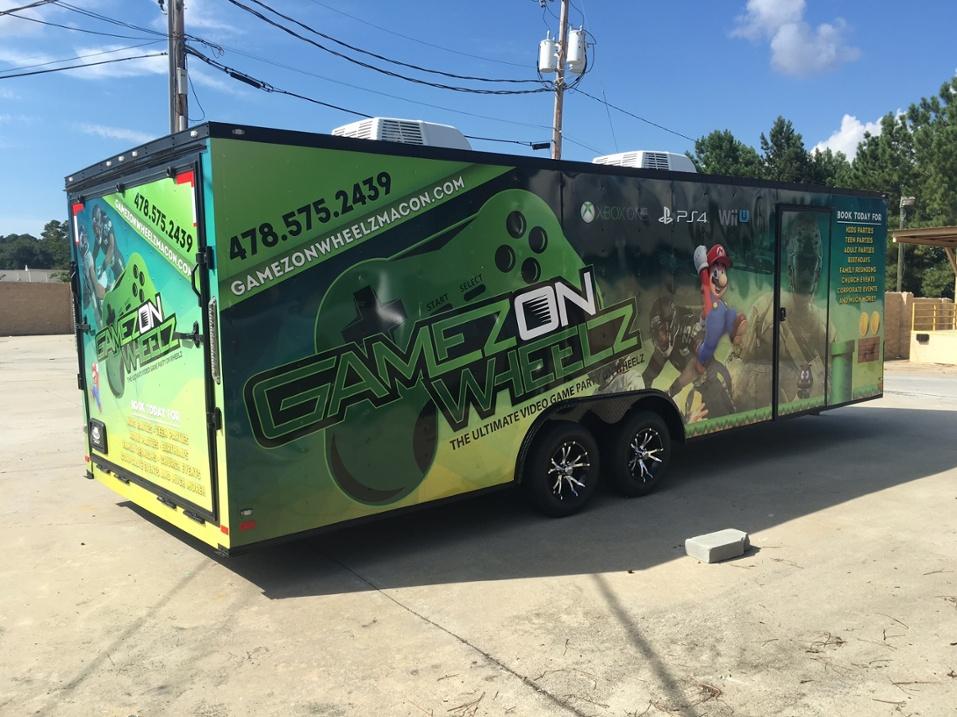 Gamezonwheels Gaming Vehicle Wrap= Awesome