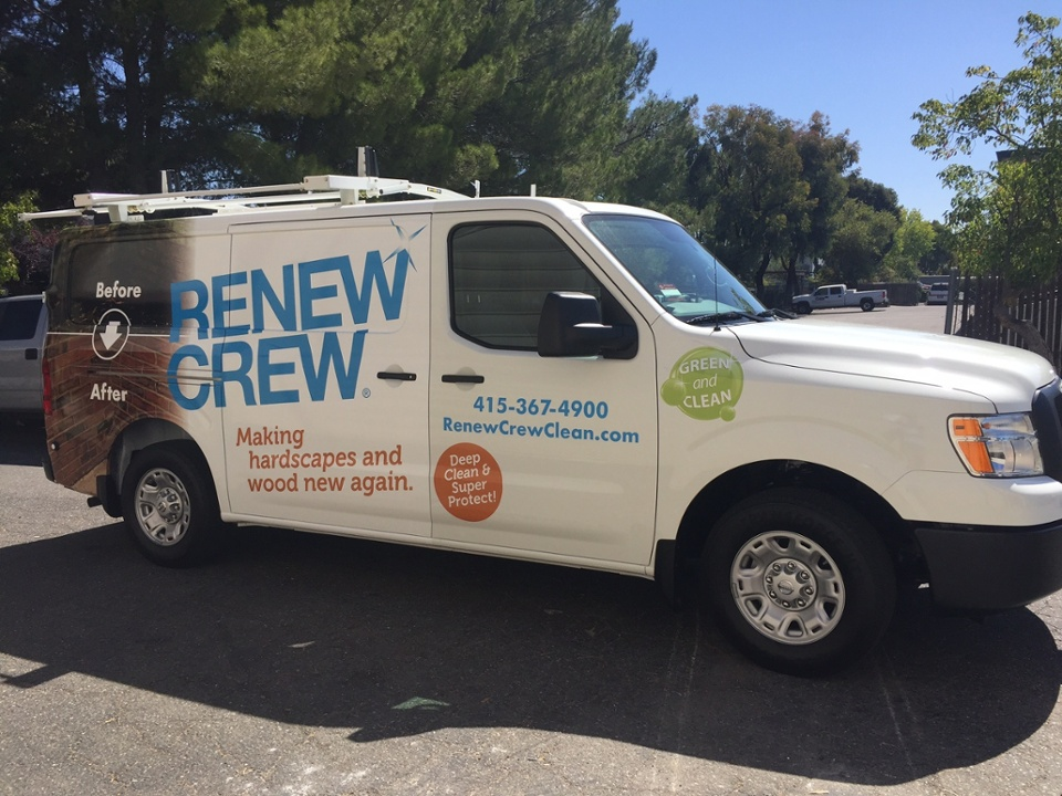 New Van Wrap for ReNew Crew