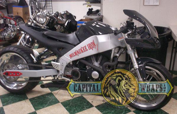 Vehicle Wraps 101 Motorcycles Custom Airbrush Or Vinyl